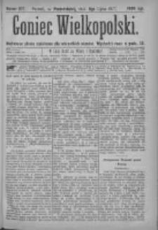 Goniec Wielkopolski: najtańsze pismo codzienne dla wszystkich stanów 1877.07.09 Nr107