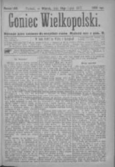 Goniec Wielkopolski: najtańsze pismo codzienne dla wszystkich stanów 1877.07.10 Nr108