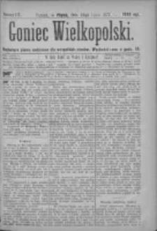 Goniec Wielkopolski: najtańsze pismo codzienne dla wszystkich stanów 1877.07.20 Nr117
