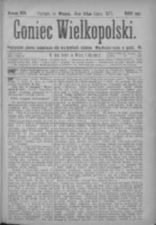 Goniec Wielkopolski: najtańsze pismo codzienne dla wszystkich stanów 1877.07.24 Nr120