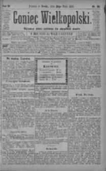 Goniec Wielkopolski: najtańsze pismo codzienne dla wszystkich stanów 1880.05.26 R.4 Nr118