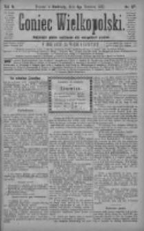 Goniec Wielkopolski: najtańsze pismo codzienne dla wszystkich stanów 1880.06.06 R.4 Nr127