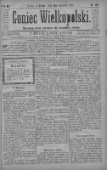 Goniec Wielkopolski: najtańsze pismo codzienne dla wszystkich stanów 1880.06.09 R.4 Nr129