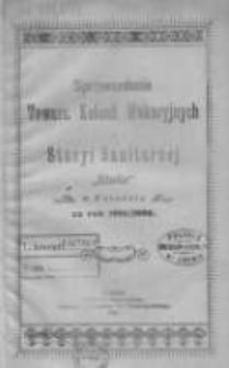 """Sprawozdanie Towarzystwa Kolonii Wakacyjnych i Stacyi Sanitarnej """"Stella"""" w Poznaniu za rok 1901/1902"""