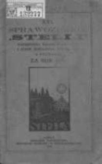 """Sprawozdanie """"Stelli"""" Towarzystwa Kolonii Wakacyjnych i Stacyi Sanitarnej w Poznaniu za rok 1911 R.16"""