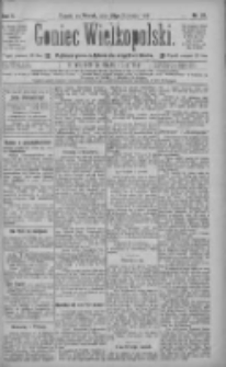 Goniec Wielkopolski: najtańsze pismo codzienne dla wszystkich stanów 1886.01.26 R.10 Nr20