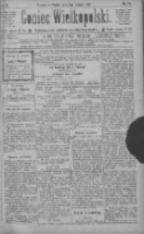 Goniec Wielkopolski: najtańsze pismo codzienne dla wszystkich stanów 1886.02.05 R.10 Nr28