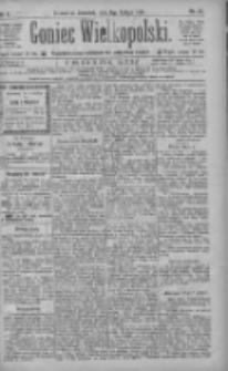 Goniec Wielkopolski: najtańsze pismo codzienne dla wszystkich stanów 1886.02.11 R.10 Nr33