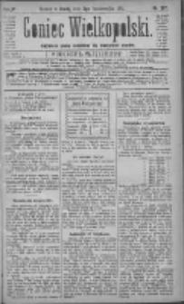 Goniec Wielkopolski: najtańsze pismo codzienne dla wszystkich stanów 1881.10.05 R.5 Nr227