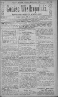 Goniec Wielkopolski: najtańsze pismo codzienne dla wszystkich stanów 1881.10.06 R.5 Nr228