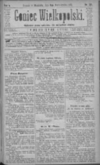 Goniec Wielkopolski: najtańsze pismo codzienne dla wszystkich stanów 1881.10.09 R.5 Nr231