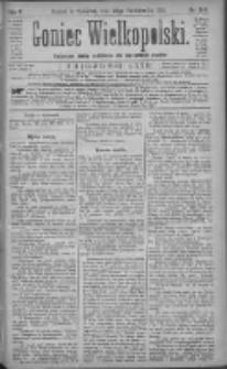 Goniec Wielkopolski: najtańsze pismo codzienne dla wszystkich stanów 1881.10.20 R.5 Nr240