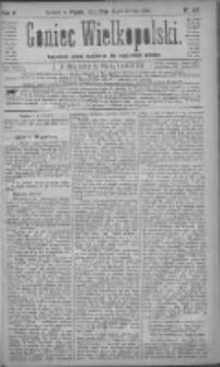 Goniec Wielkopolski: najtańsze pismo codzienne dla wszystkich stanów 1881.10.21 R.5 Nr241