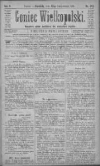 Goniec Wielkopolski: najtańsze pismo codzienne dla wszystkich stanów 1881.10.23 R.5 Nr243