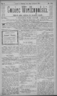 Goniec Wielkopolski: najtańsze pismo codzienne dla wszystkich stanów 1881.11.05 R.5 Nr253