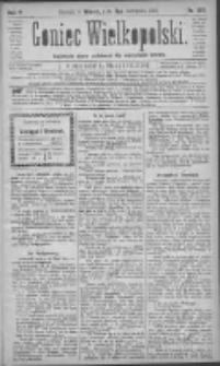Goniec Wielkopolski: najtańsze pismo codzienne dla wszystkich stanów 1881.11.08 R.5 Nr255