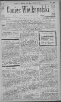Goniec Wielkopolski: najtańsze pismo codzienne dla wszystkich stanów 1881.11.09 R.5 Nr256