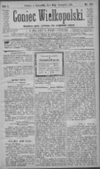 Goniec Wielkopolski: najtańsze pismo codzienne dla wszystkich stanów 1881.11.10 R.5 Nr257