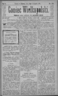 Goniec Wielkopolski: najtańsze pismo codzienne dla wszystkich stanów 1881.11.12 R.5 Nr259