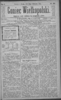 Goniec Wielkopolski: najtańsze pismo codzienne dla wszystkich stanów 1881.11.16 R.5 Nr262