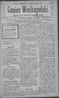 Goniec Wielkopolski: najtańsze pismo codzienne dla wszystkich stanów 1881.11.17 R.5 Nr263