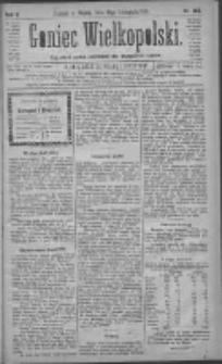 Goniec Wielkopolski: najtańsze pismo codzienne dla wszystkich stanów 1881.11.18 R.5 Nr264