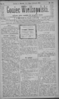 Goniec Wielkopolski: najtańsze pismo codzienne dla wszystkich stanów 1881.11.22 R.5 Nr267