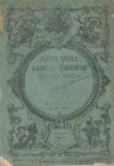 Józefa Ungra Kalendarz Warszawski Popularno-Naukowy na rok przestępny 1860, który ma dni 366