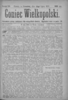 Goniec Wielkopolski: najtańsze pismo codzienne dla wszystkich stanów 1877.07.26 Nr122