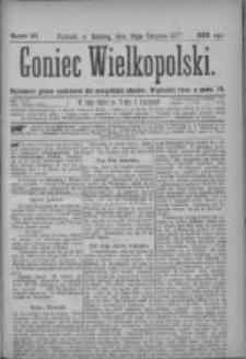 Goniec Wielkopolski: najtańsze pismo codzienne dla wszystkich stanów 1877.08.18 Nr141