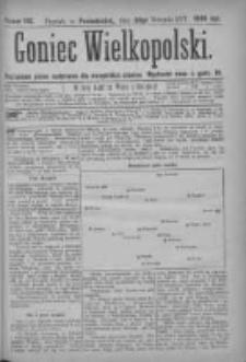 Goniec Wielkopolski: najtańsze pismo codzienne dla wszystkich stanów 1877.08.20 Nr142