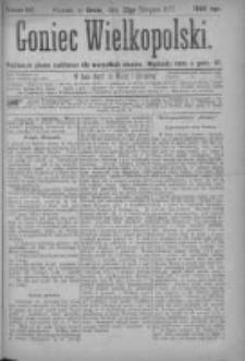 Goniec Wielkopolski: najtańsze pismo codzienne dla wszystkich stanów 1877.08.22 Nr144
