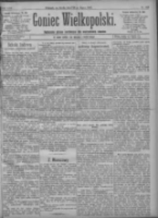 Goniec Wielkopolski: najtańsze pismo codzienne dla wszystkich stanów 1897.07.28 R.21 Nr169
