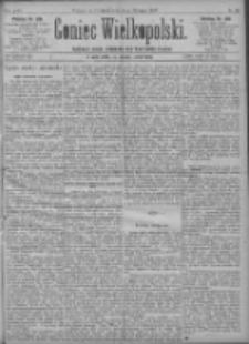 Goniec Wielkopolski: najtańsze pismo codzienne dla wszystkich stanów 1897.08.22 R.21 Nr191