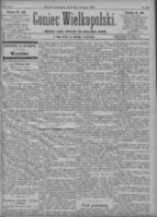 Goniec Wielkopolski: najtańsze pismo codzienne dla wszystkich stanów 1897.08.28 R.21 Nr196