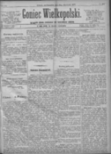 Goniec Wielkopolski: najtańsze pismo codzienne dla wszystkich stanów 1897.11.25 R.21 Nr269
