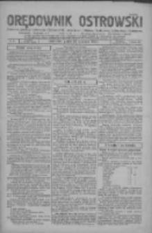Orędownik Ostrowski: pismo na powiaty Ostrowski i Odolanowski oraz miast Ostrowa, Odolanowa, Sulmierzyc i Raszkowa 1932.01.15 R.81 Nr5