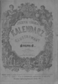 Józefa Ungra Kalendarz Warszawski Popularno-Naukowy Illustrowany na rok zwyczajny 1881 który ma dni 365