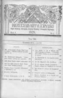 Przegląd Artyleryjski: organ artylerji, uzbrojenia, artylerji morskiej i przemysłu wojennego 1929 luty R.7 T.8 Nr2