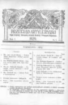 Przegląd Artyleryjski: organ artylerji, uzbrojenia, artylerji morskiej i przemysłu wojennego 1929 maj R.7 T.8 Nr5