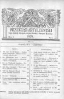 Przegląd Artyleryjski: organ artylerji, uzbrojenia, artylerji morskiej i przemysłu wojennego 1929 czerwiec R.7 T.8 Nr6