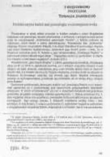 Problematyka badań nad genealogia wczesnopiastowską