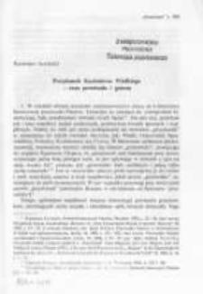 Przydomek Kazimierza Wielkiego - czas powstania i geneza