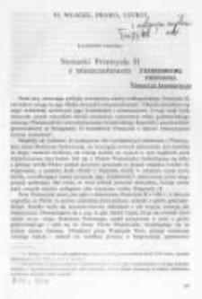 Stosunki Przemysła II z mieszczaństwem