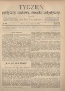 Tydzień Polityczny, Naukowy, Literacki i Artystyczny. 1871 R.2 nr23
