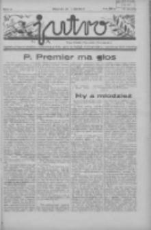 Jutro: organ Związku Weteranów Powstań Narodowych R.P. 1914/19: tygodnik poświęcony aktualnym zagadnieniom polskim, oparty na ideologji niepodległościowej i powstańczej Polski Zachodniej 1937.05.30 R.2 Nr22(39)
