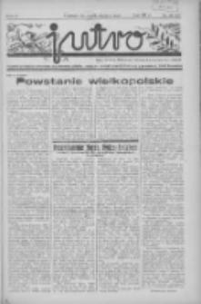 Jutro: organ Związku Weteranów Powstań Narodowych R.P. 1914/19: tygodnik poświęcony aktualnym zagadnieniom polskim, oparty na ideologji niepodległościowej i powstańczej Polski Zachodniej 1937.10.24 R.2 Nr41(58)