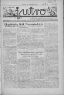 Jutro: organ Związku Weteranów Powstań Narodowych R.P. 1914/19: tygodnik poświęcony aktualnym zagadnieniom polskim, oparty na ideologji niepodległościowej i powstańczej Polski Zachodniej 1937.11.21 R.2 Nr45(62)