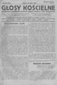 Głosy Kościelne. 1926 nr4
