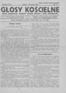 Głosy Kościelne. 1936 nr21